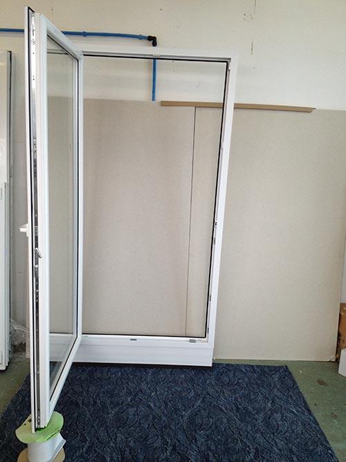kunststoff balkont r anthrazit breite 1080 x h he 2100 mm ebay. Black Bedroom Furniture Sets. Home Design Ideas