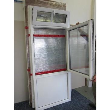Kunststoff Element mit fester Brüstungsverglasun Breite 935 x Höhe 2265 mm