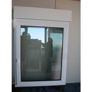 kunststofffenster wei mit rollladen dkl breite 1050 x h he 1350mm g nstig online kaufen. Black Bedroom Furniture Sets. Home Design Ideas