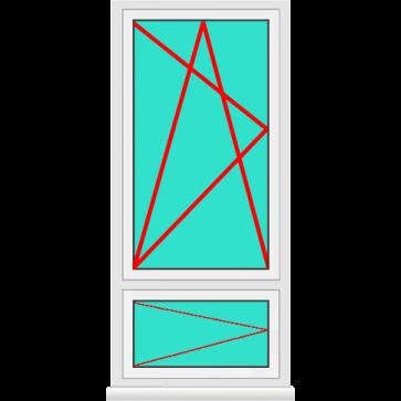 Aluminium Fenster Dreh Kipp mit Unterlicht Dreh Online Kaufen