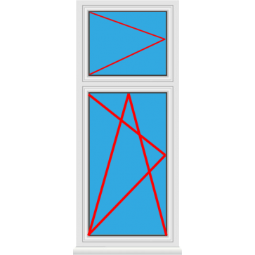 kunststofffenster mit oberlicht online kaufen mit rolll den konfigurieren ab 116. Black Bedroom Furniture Sets. Home Design Ideas
