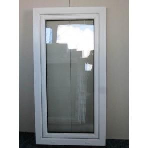 Kunststofffenster Weiß Breite 700 x Höhe 1350 mm