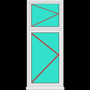 Aluminium Fenster Dreh mit Oberlicht Dreh Günstig Kaufen