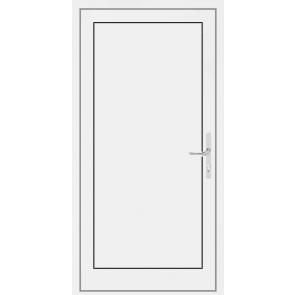 Kunststoff Haustür 1 Flügelig mit Füllung