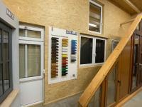 MFZ Innen Ausstellung -Fenster mit Brüstung & Oberlicht & Dekorübersicht Tafel Fenster & Türen