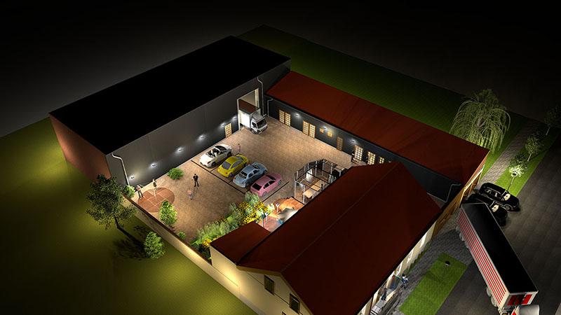 Sitz & Logistik- Zentrum