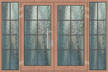 2/3 Sandwichplatte 1/3 Glas