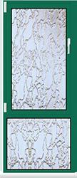 Aluminium Fenster Dreh Kipp mit Oberlicht