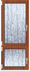 Kunststofffenster Dreh Kipp mit Unterlicht Dreh