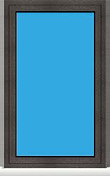 Kunststoff Festverglasung (FIF)